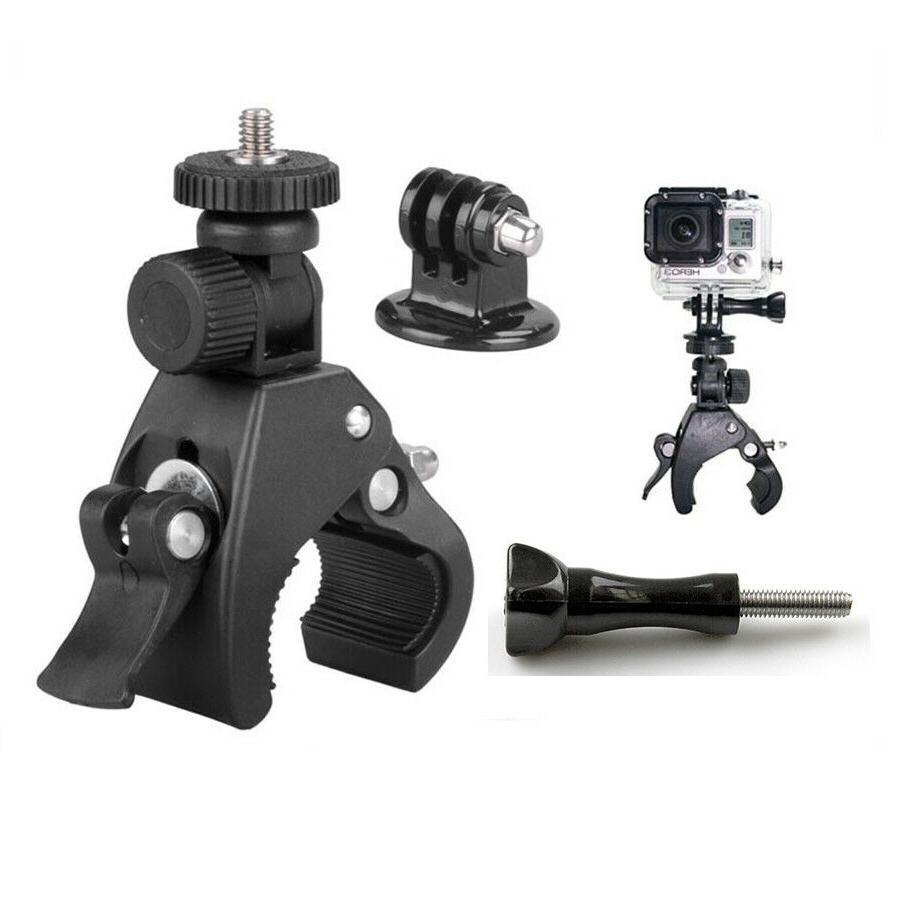 accessory bicycle motorcycle handlebar tripod mount holder