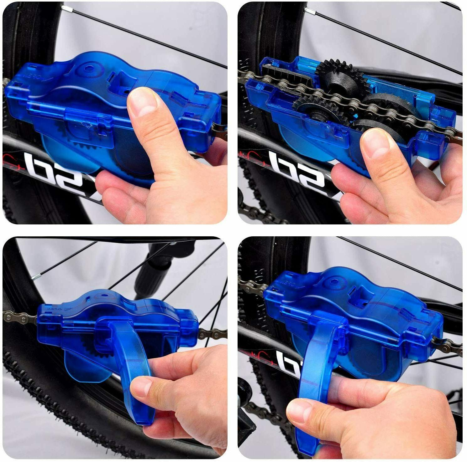 Bicycle & Cleaner Tool Maintenance Kit -Gear Cleaner 4Pcs