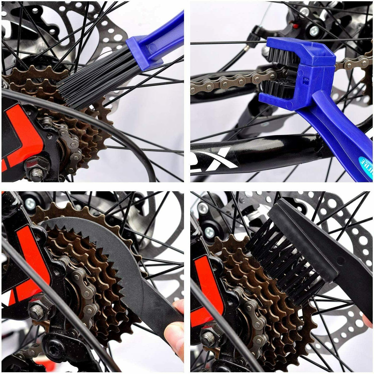 Bicycle & Motorcycle Cleaner Tool Maintenance -Gear