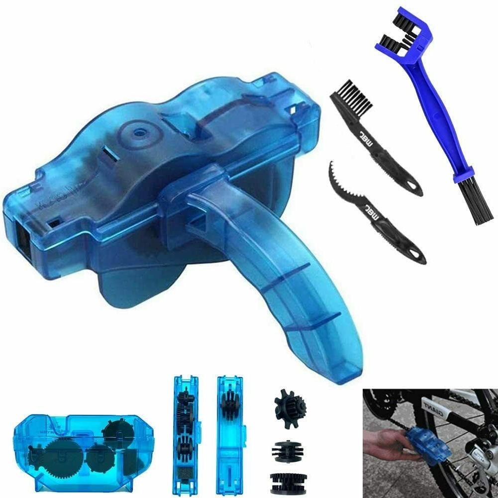 bicycle and motorcycle chain cleaner tool maintenance