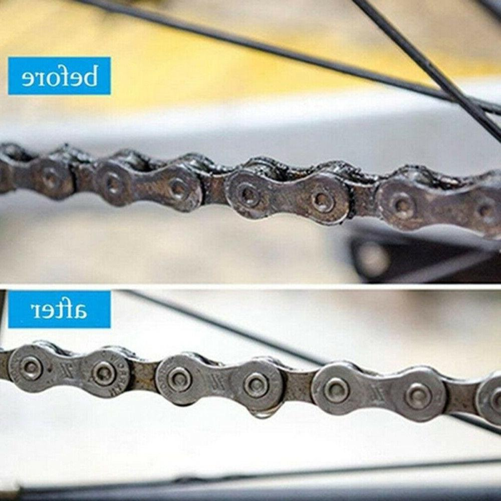 Bicycle Chain Cleaner Brushes Road Bike Cleaning