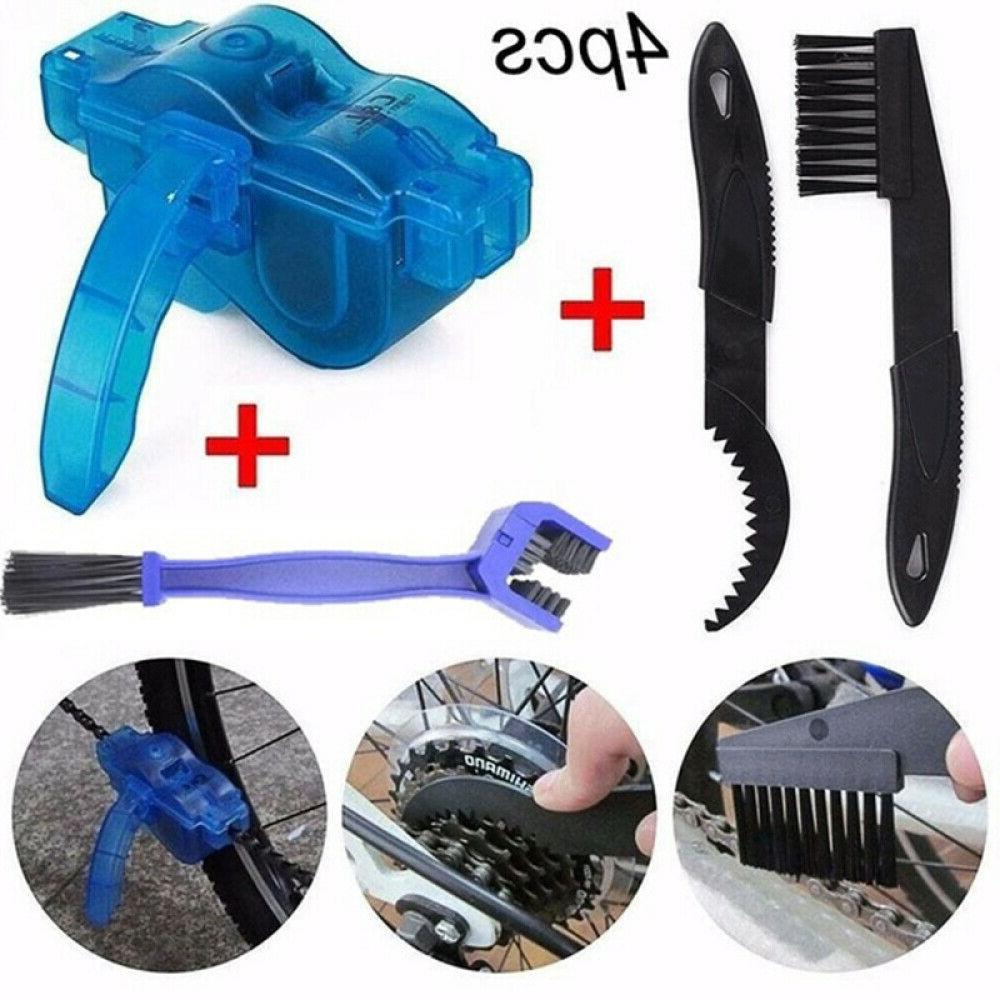 bicycle chain cleaner scrubber brushes cycling mtb