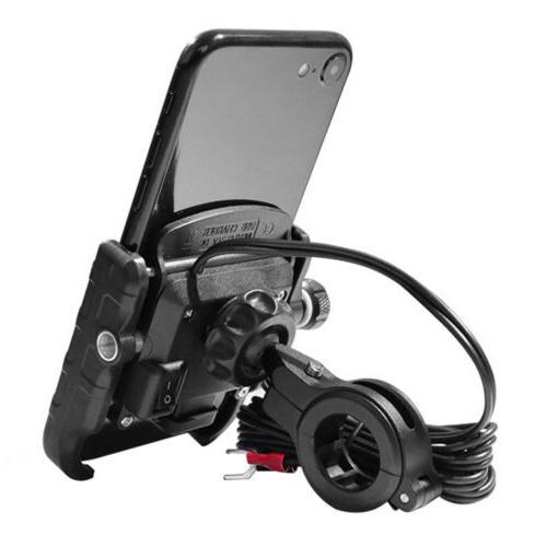 Bike Aluminum Phone Mount Holder for