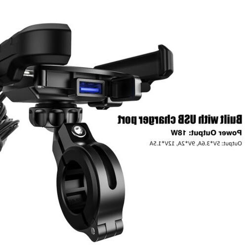360 Rotation Motorcycle Holder Charger