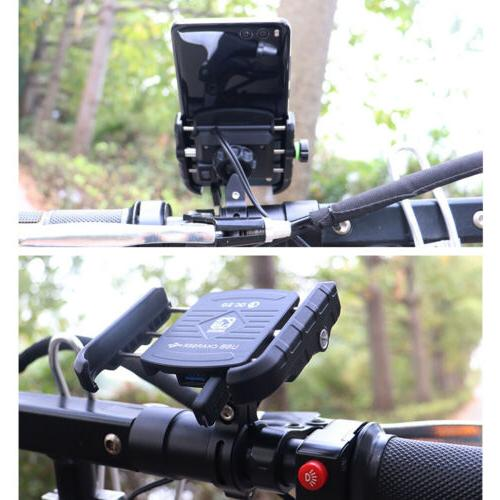 360 Rotation Motorcycle Holder Charger Duty for