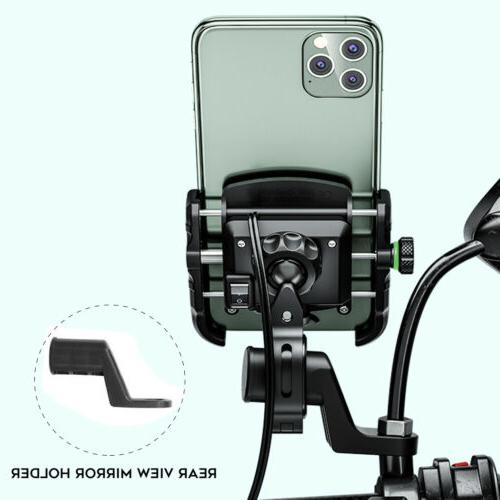 Bike Motorcycle Aluminum Phone Holder for Android