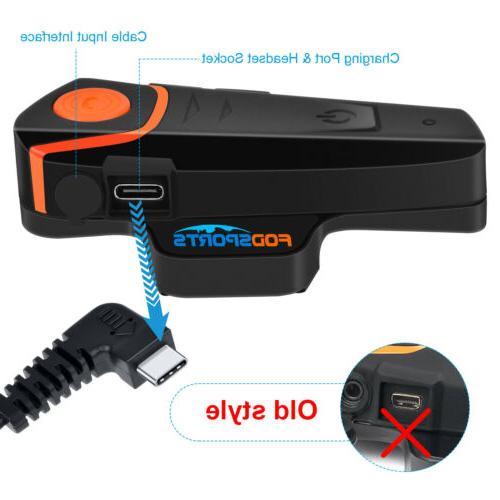 1000M Motorcycle Helmet Bluetooth 2Way