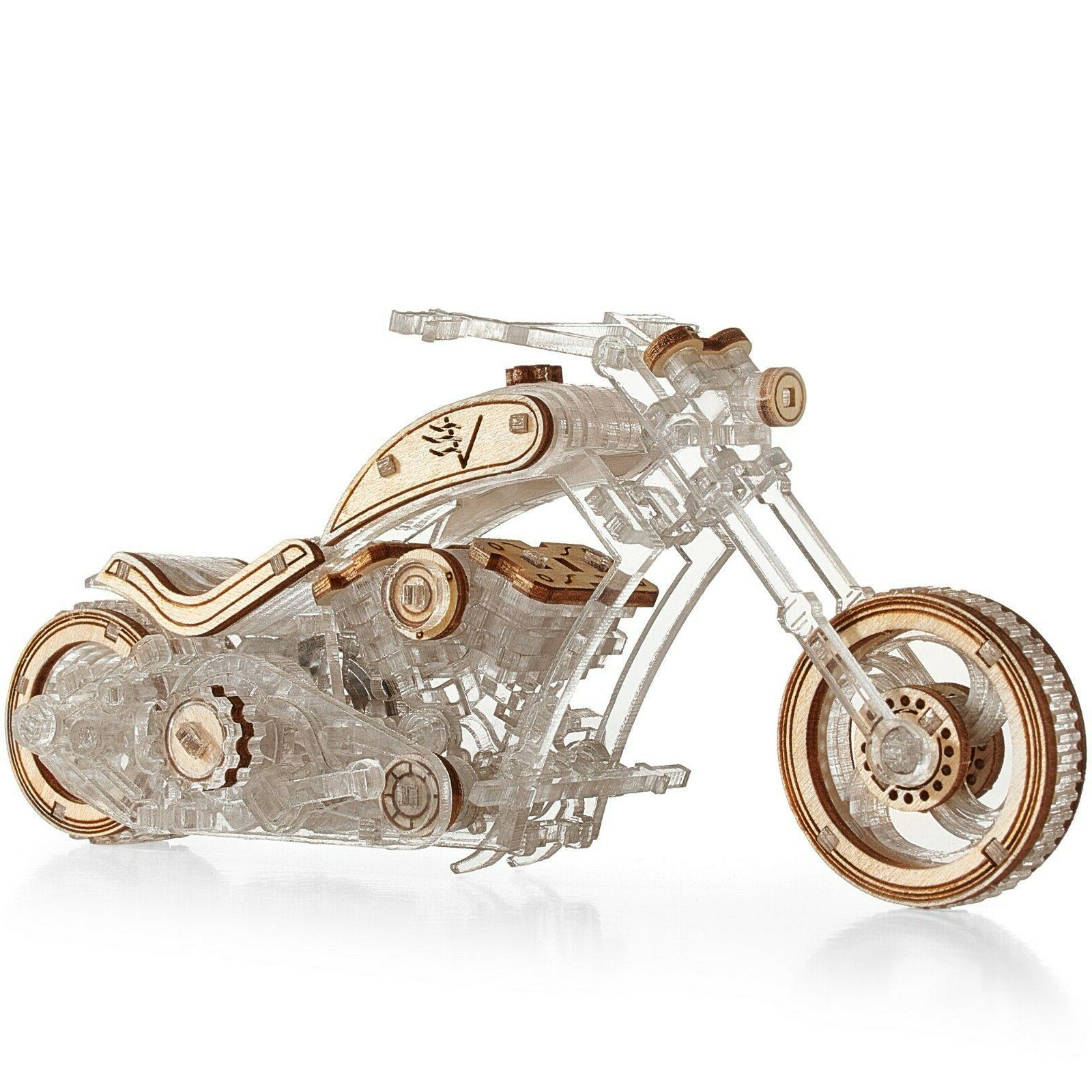 chopper 3d puzzle motorcycle for adults 3d