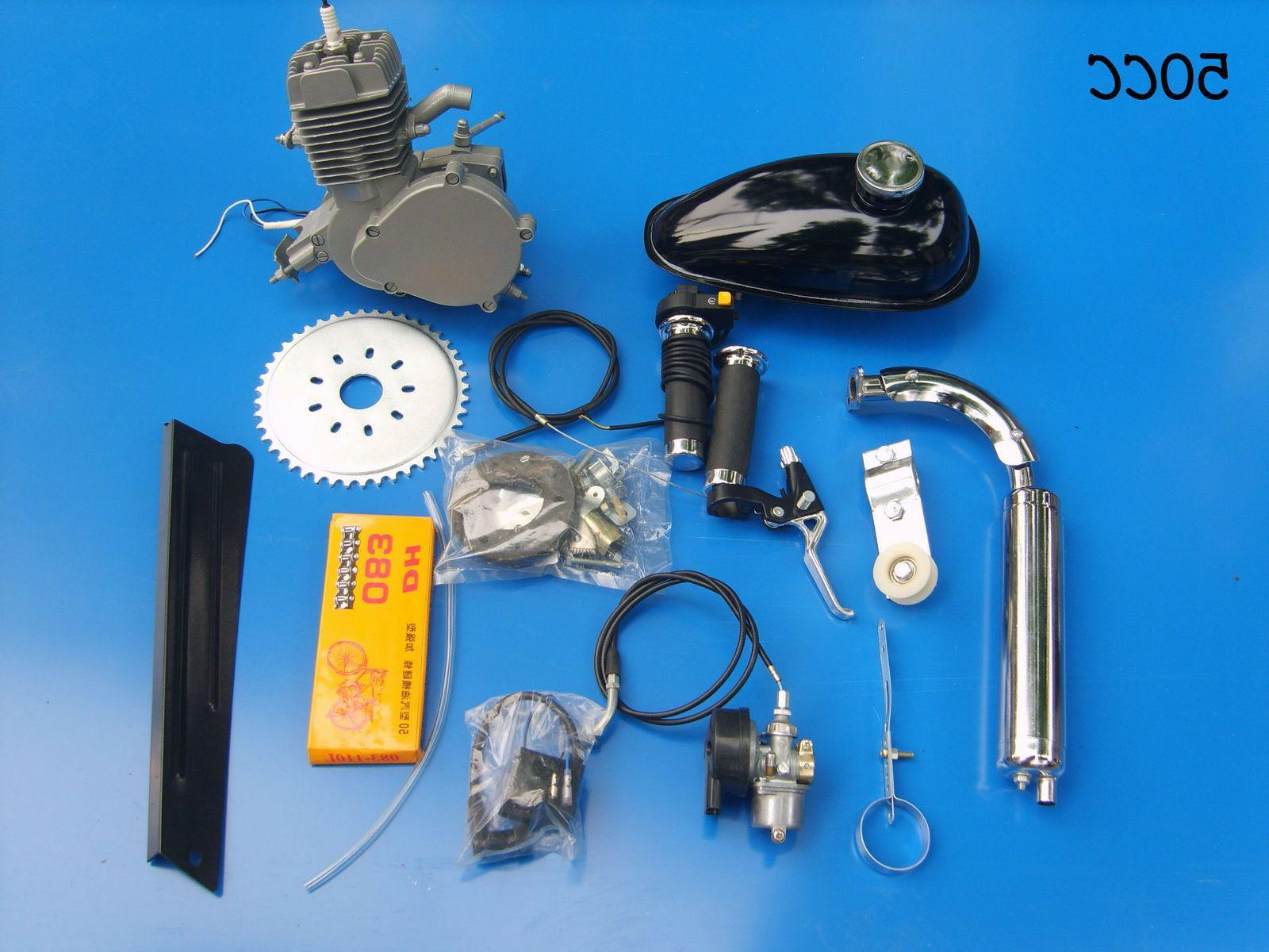 DIY 2 Stroke 50cc Motorized Engine Gas Motor
