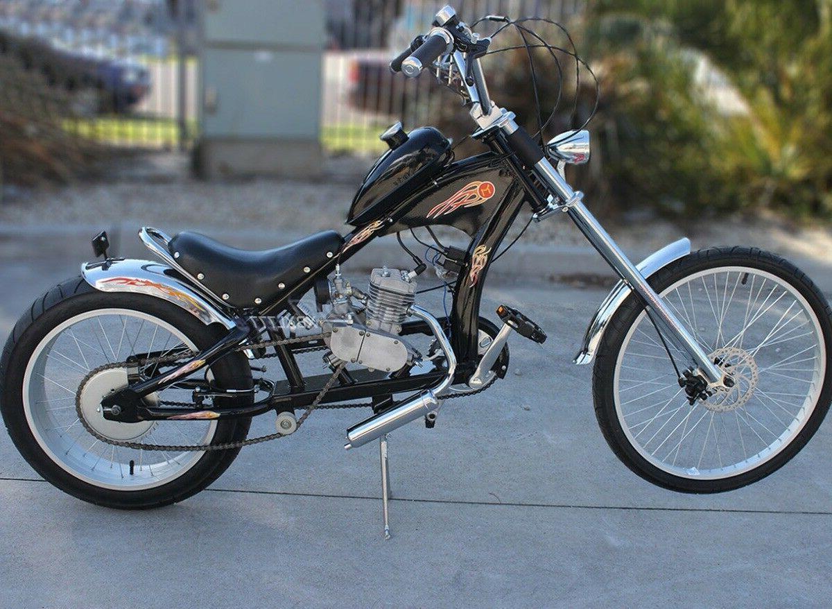 diy 2 stroke 50cc motorized bicycle bike