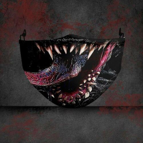 Halloween Face Mask Reusable Washable Protection USA