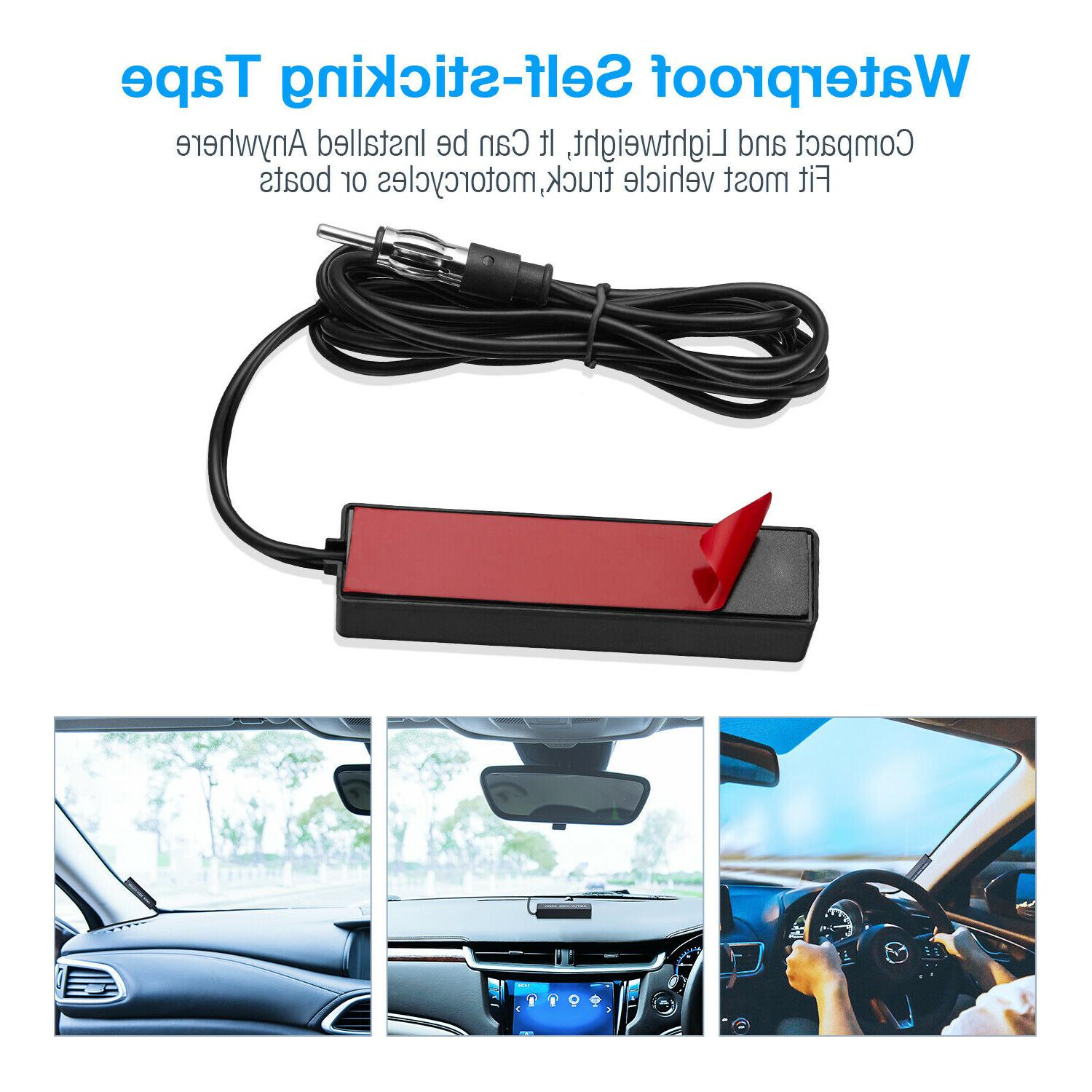 Car Radio Stereo For Vehicle Motorcycle Boat