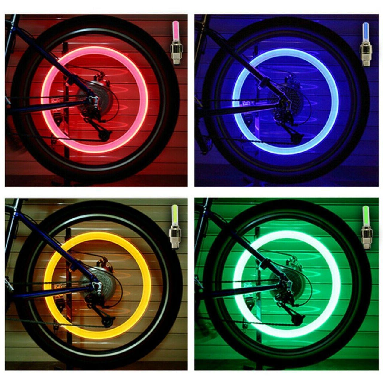 hot led neon light valve stem cap
