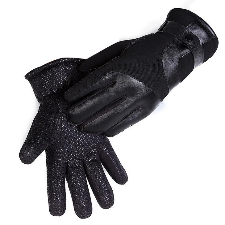Men's Warm Motorcycle Driving Cycling Gloves