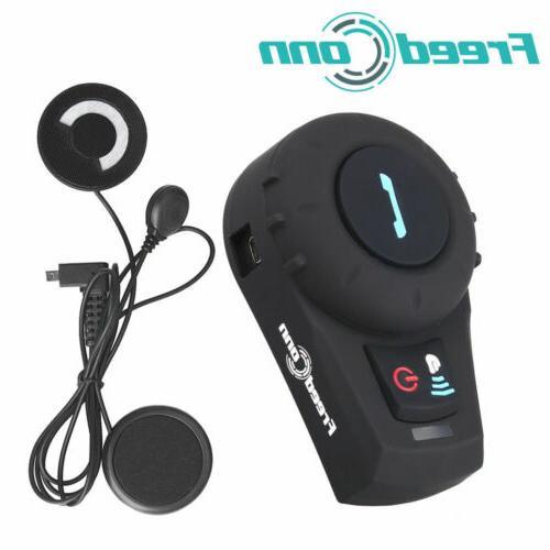 Freedconn Motorcycle Helmet Headset Bluetooth 2Way Radio