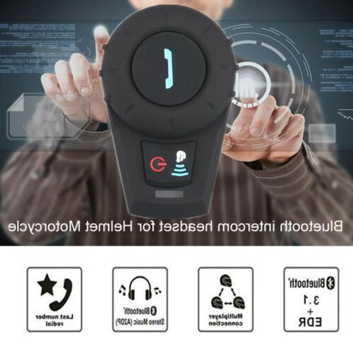 Helmet Interphone 2Way Radio