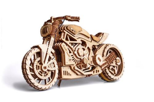 motorcycle dms bike mechanical wooden 3d puzzle