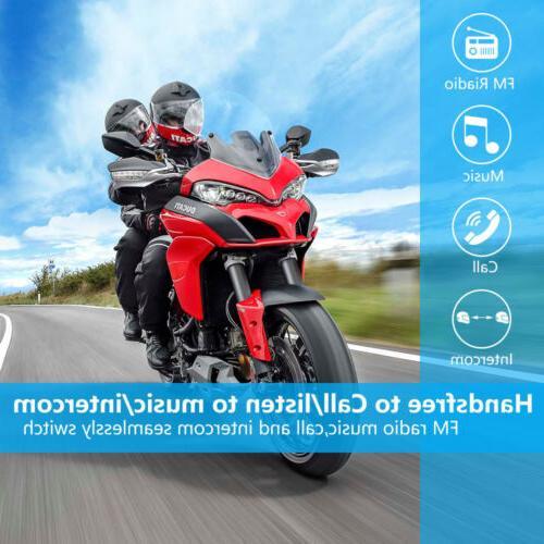 Motorcycle Helmet Headset 2Way Radio