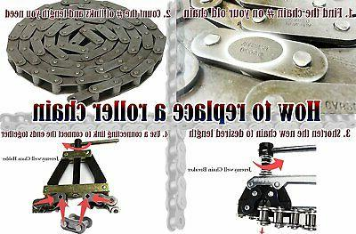 Roller Chain Tools Kit