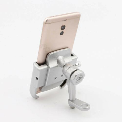 Silver Aluminum Cell Phone Holder Mount for