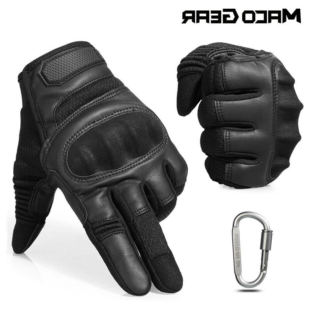 touch screen leather motorcycle men s tactical