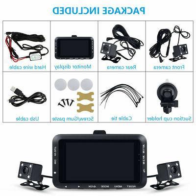 USA Dash Cam 1080P HD Dual Driving Recorder