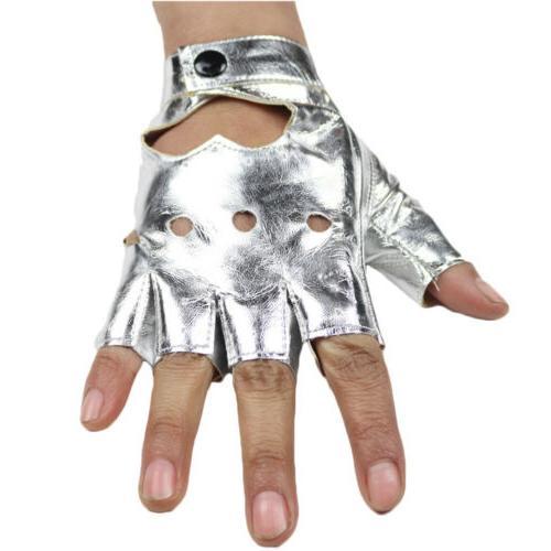 Women Motorcycle Gloves Half Fingerless Short