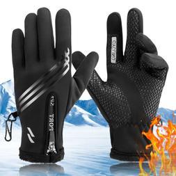 men women winter warm gloves windproof waterproof