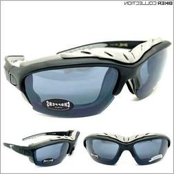 Mens MOTORCYCLE BIKER Day Riding Protective Padded SUN GLASS