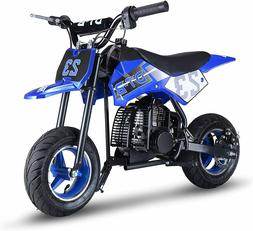 Mini Gas Power Dirt Bike, Motorcycle Ride-on 51cc 2 Stroke