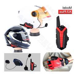 Motorcycle Bluetooth Walkie Talkie 2 way Radio UHF 400-470MH
