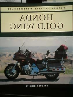 motorcycle book  Honda gold wing