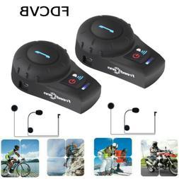 motorcycle bt intercom helmet headset bluetooth interphone