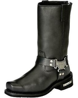 Milwaukee Motorcycle Clothing Men's Harness Motorcycle Boot