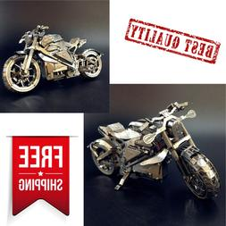 Motorcycle Collection Level Puzzle 3D Metal Assembly puzzle