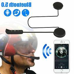 Motorcycle Helmet Bluetooth 5.0 Wireless Intercom Headset Ea