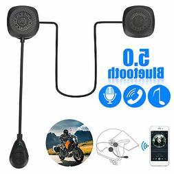 Motorcycle Helmet Headset Wireless Bluetooth 5.0 Headphone S