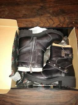 Milwaukee Motorcycle Riding Boots Women's Size 7.5 Delusion