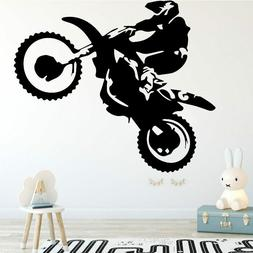Motorcycle Stunt Driver Wall Sticker Home Decor For Living R