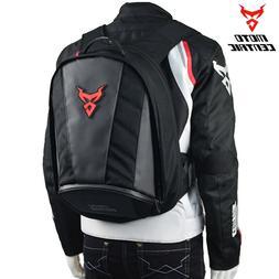 motorcycle waterproof backpack large helmet holder storage h
