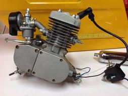 🔥Motorized Bike Engine Petrol Gas 50cc 2-Stroke Bicycle M