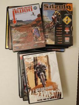 Mountain Bike lot 14 Like New DVDs Plush, Kranked, Illusiona