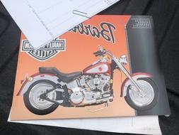 NEVER opened MINT1999 Mattel Barbie Harley Davidson Motorcyc