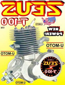 NEW DESIGN 80cc/100cc 2-STROKE MOTORIZED BIKE ENGINE FOR KIT