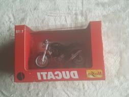New Miniature Maisto 1:18 Scale DUCATI Monster S4 Motorcycle