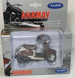 New Welly Yamaha Vino Moped 1:18 Scale Model
