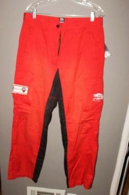 NWT Arlen Ness Motorcycle apparel Red & Black pants Ducati C