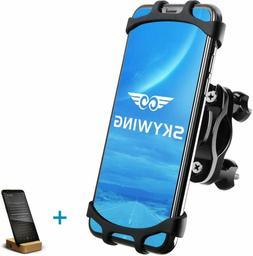 SKYWING Bike Phone Mount, 360° Adjustable Bicycle Phone Ho