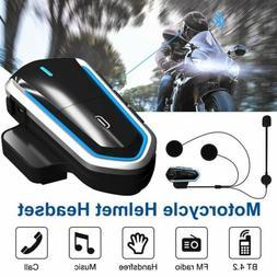 Rechargeable Motorcycle Wireless Bluetooth Helmet  FM Radio
