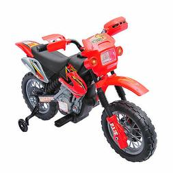 6V Kids Ride On Motorcycle Battery Powered Electric Bike Car